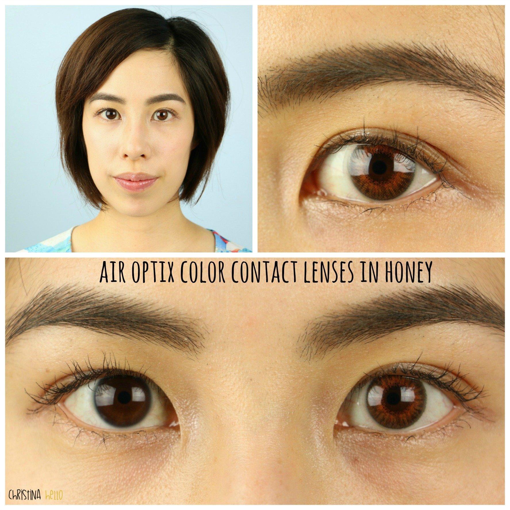 Honey Contact Lenses - myscaryeyes.com