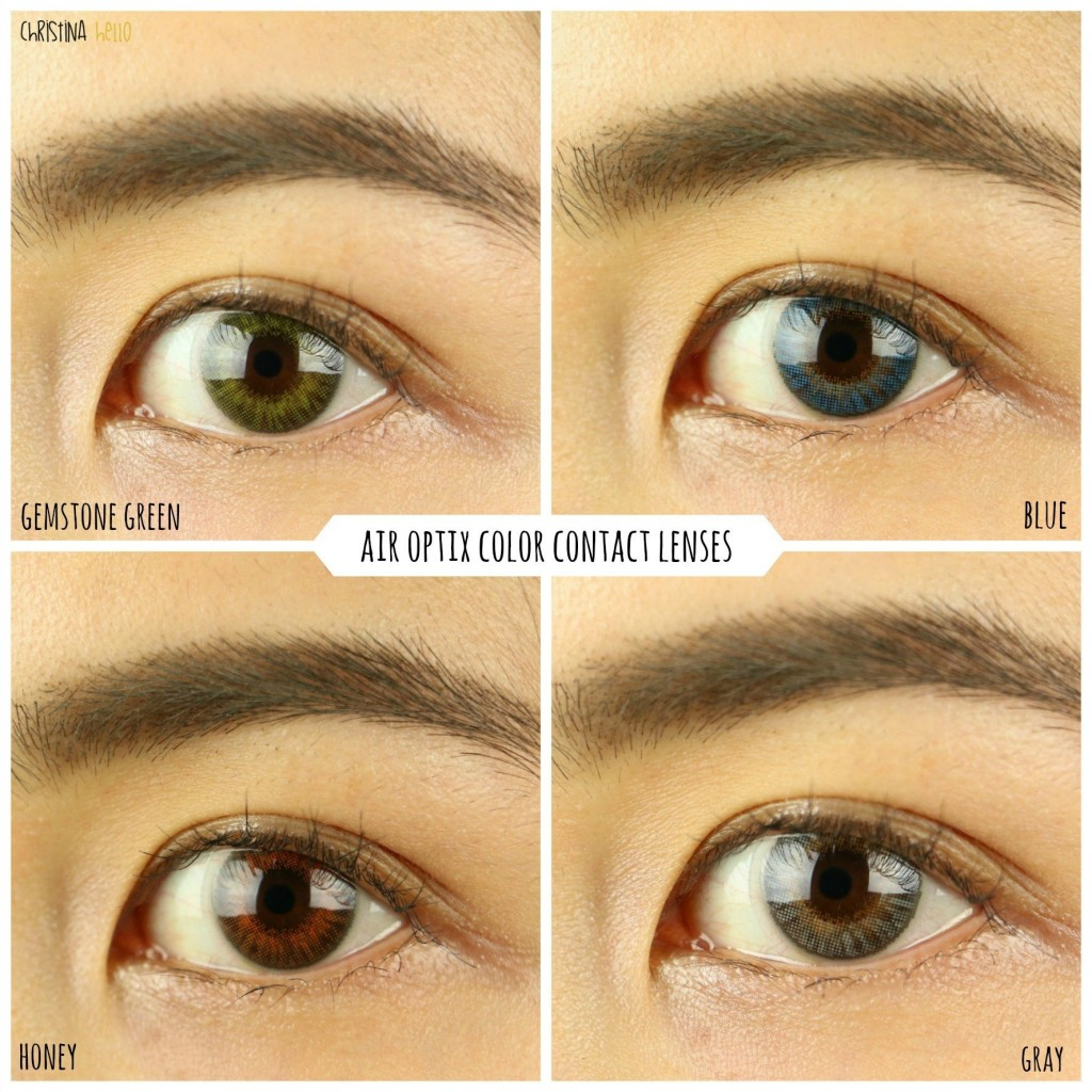 Colored Contacts First Impressions (Air Optix, Freshlooks