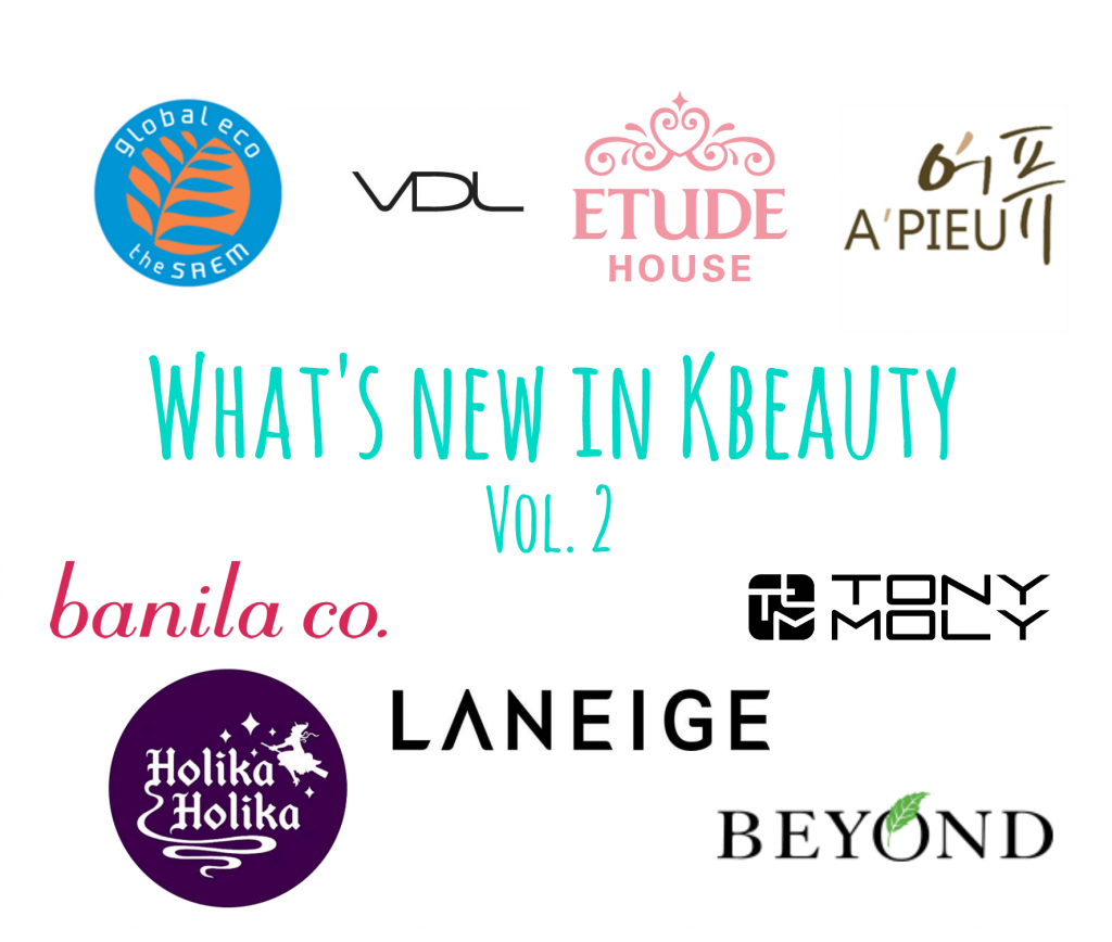 what's new in Kbeauty 2