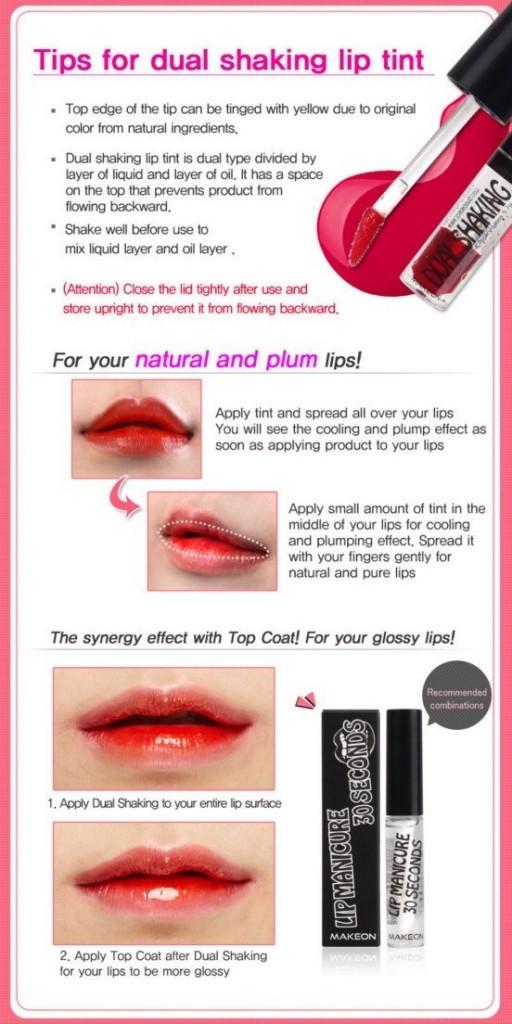 makeon lip tint 2