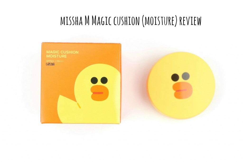 MIssha M magic cushion (moisture) review