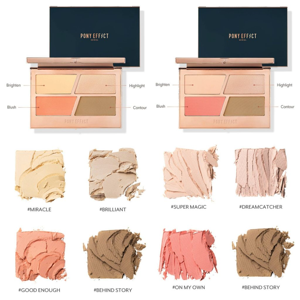 Pony Effect Contouring Master Palette Review Demo