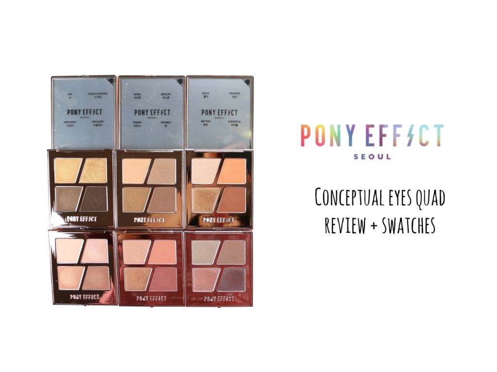 Eyeshadow palette Pony effect