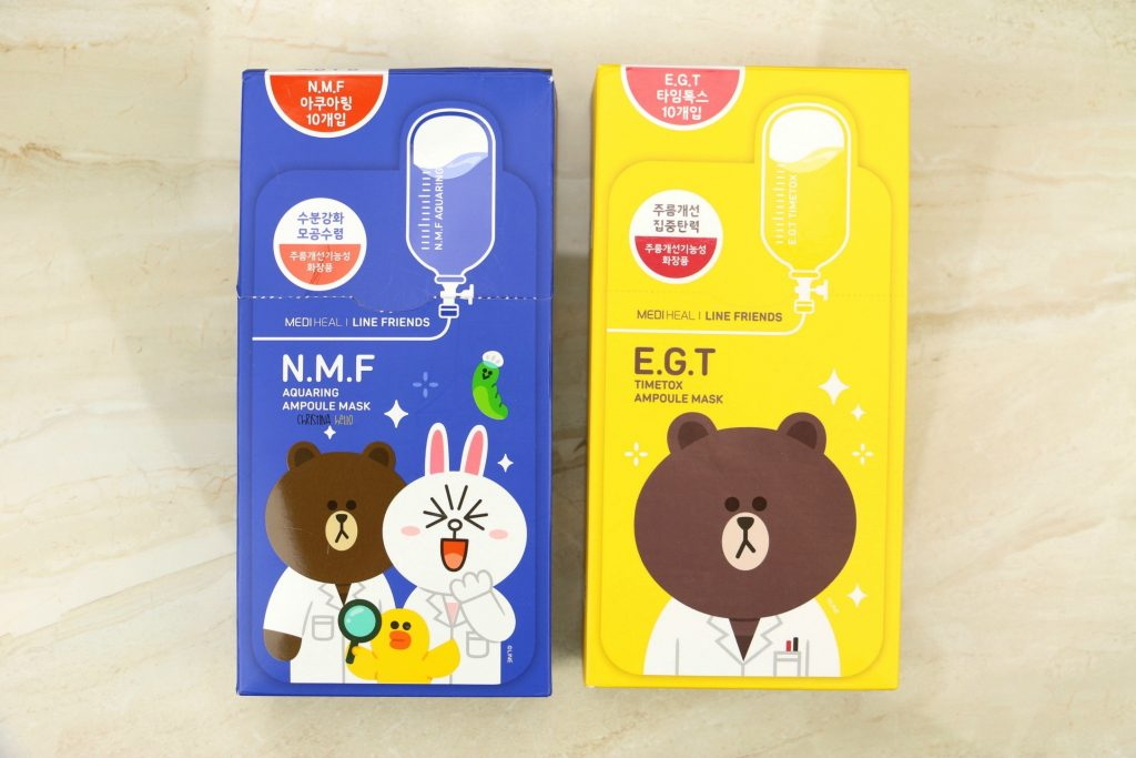 Korean sheet mask Mediheal Line friends