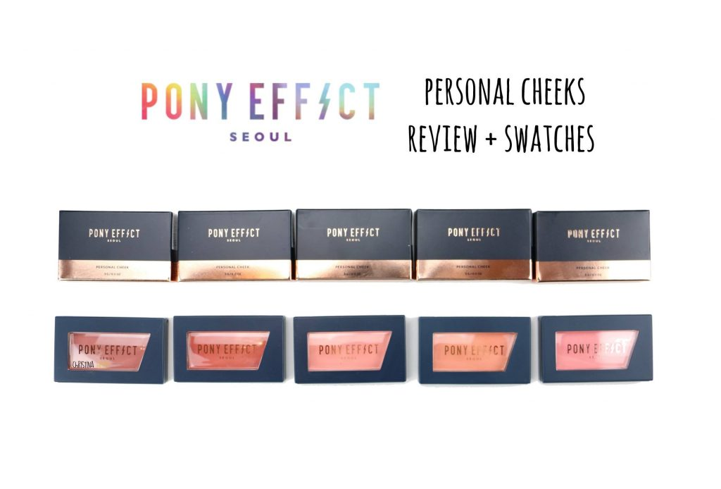 Pony effect blush title