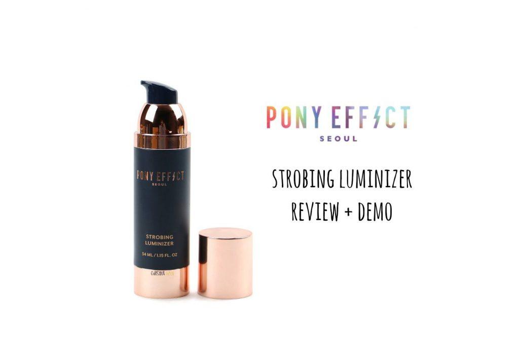 Liquid highlighter Pony effect