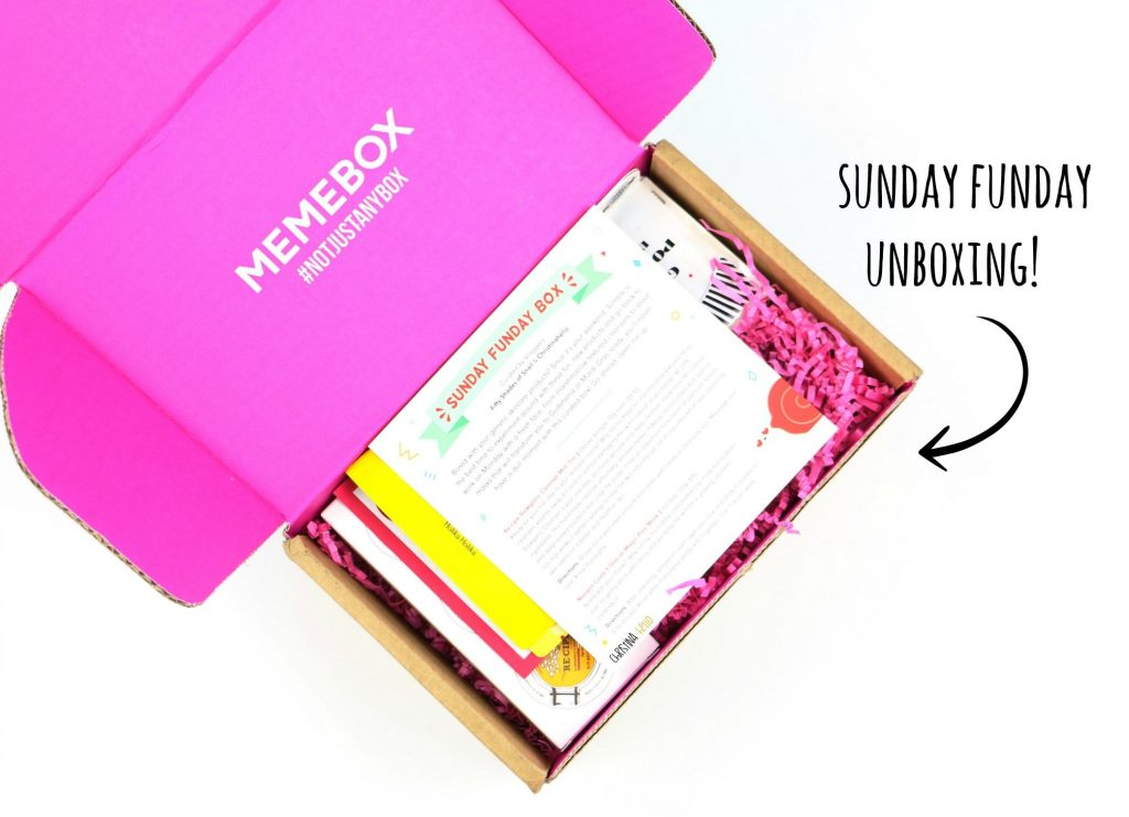 Sunday Funday Memebox