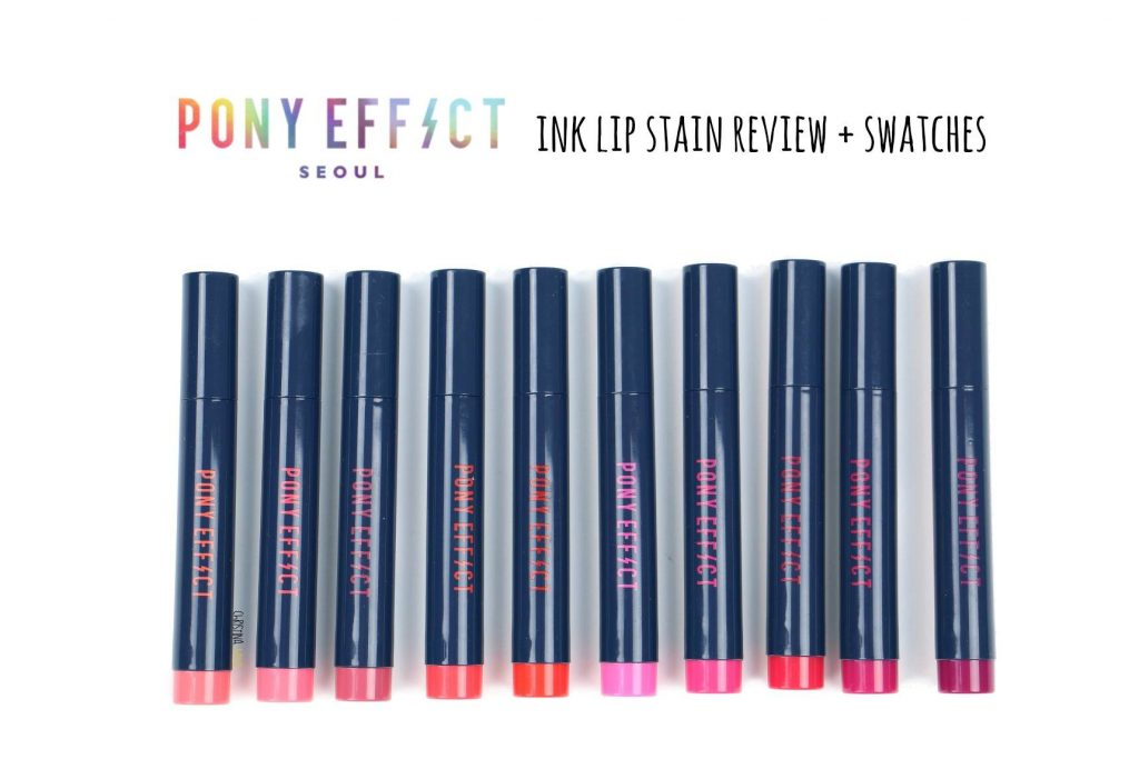 pony ink lip stain