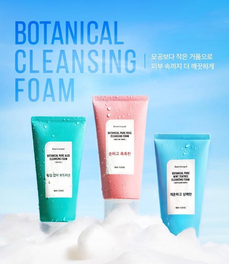 Bon VIvant foam cleanser