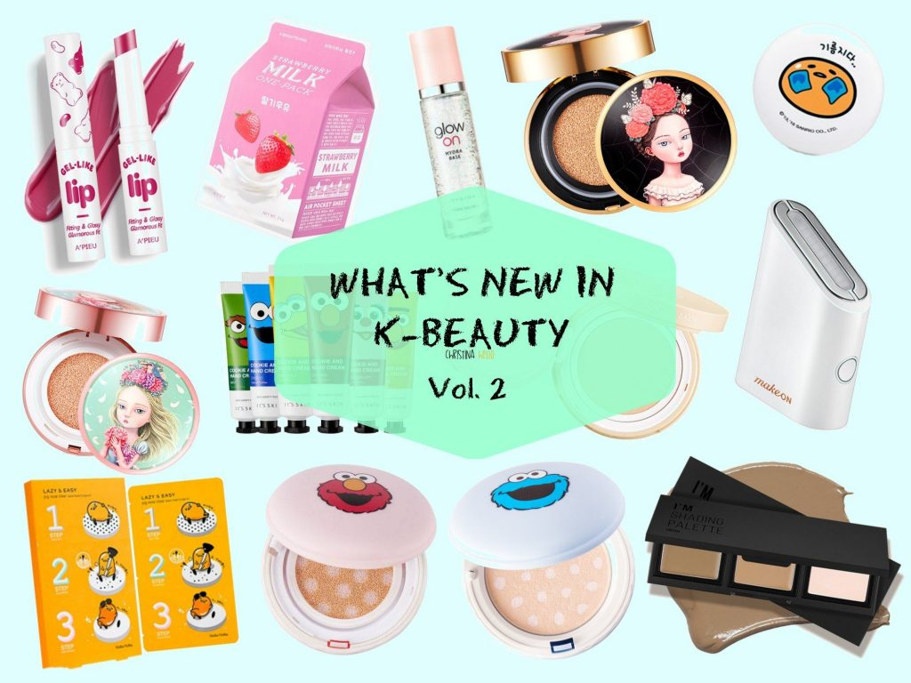 Korean cosmetics what's new