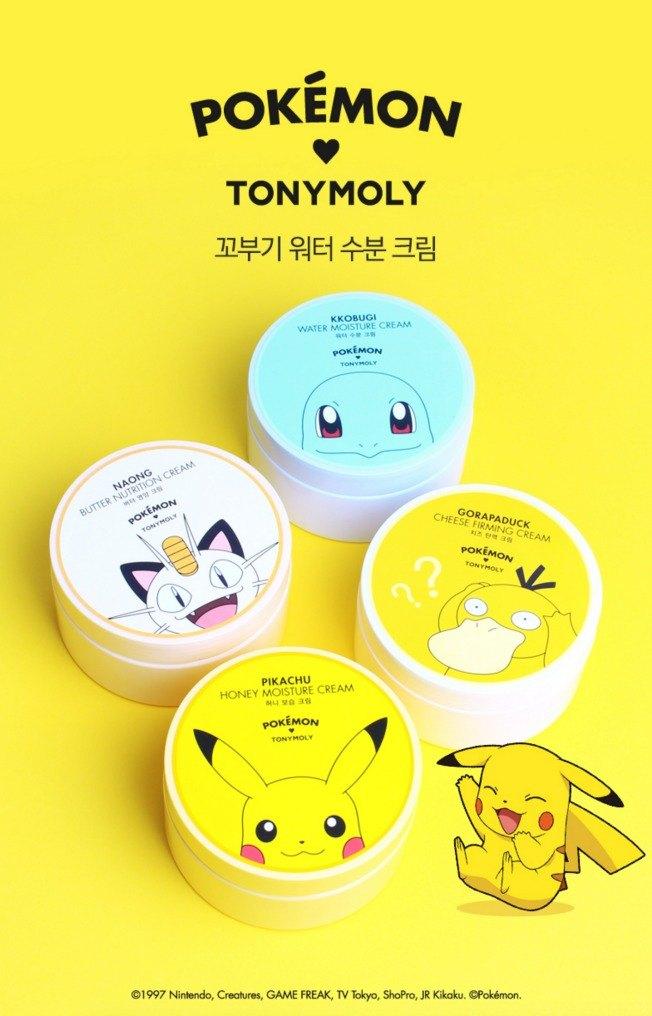 pokemon tony moly cream