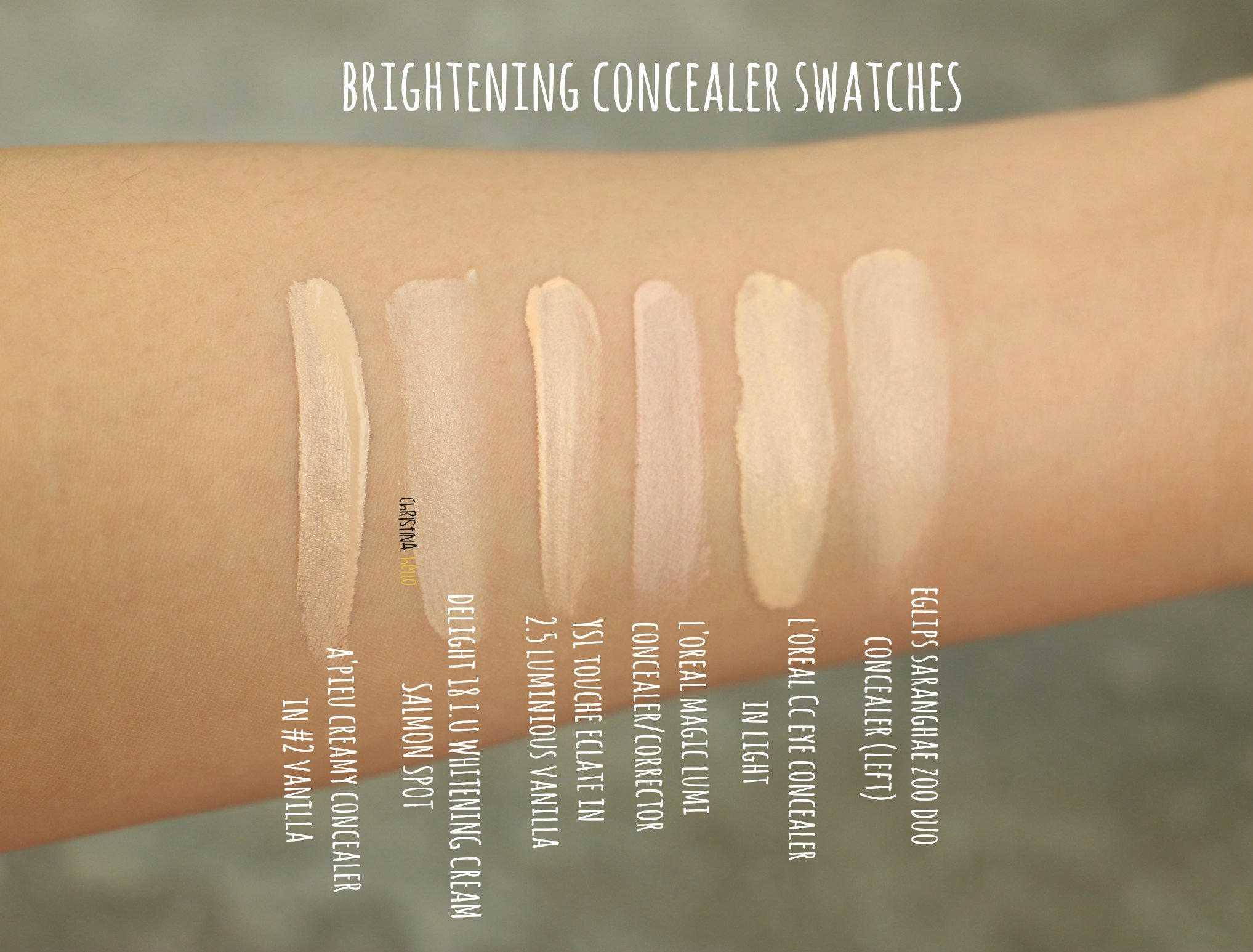 collection 200 concealer