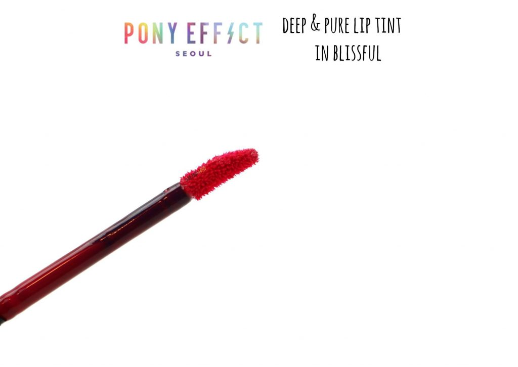 Pony effect deep and pure lip tint review