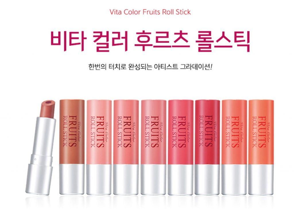 Skinfood vita color fruits roll stick