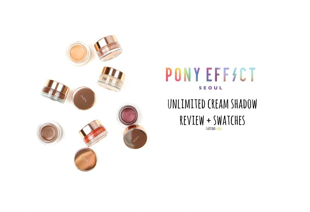 Pony effect unlimited cream shadow review