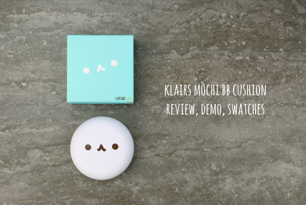 Klairs mochi BB cushion review