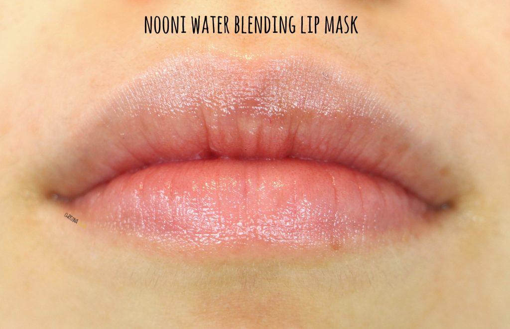 Noon water blending lip mask