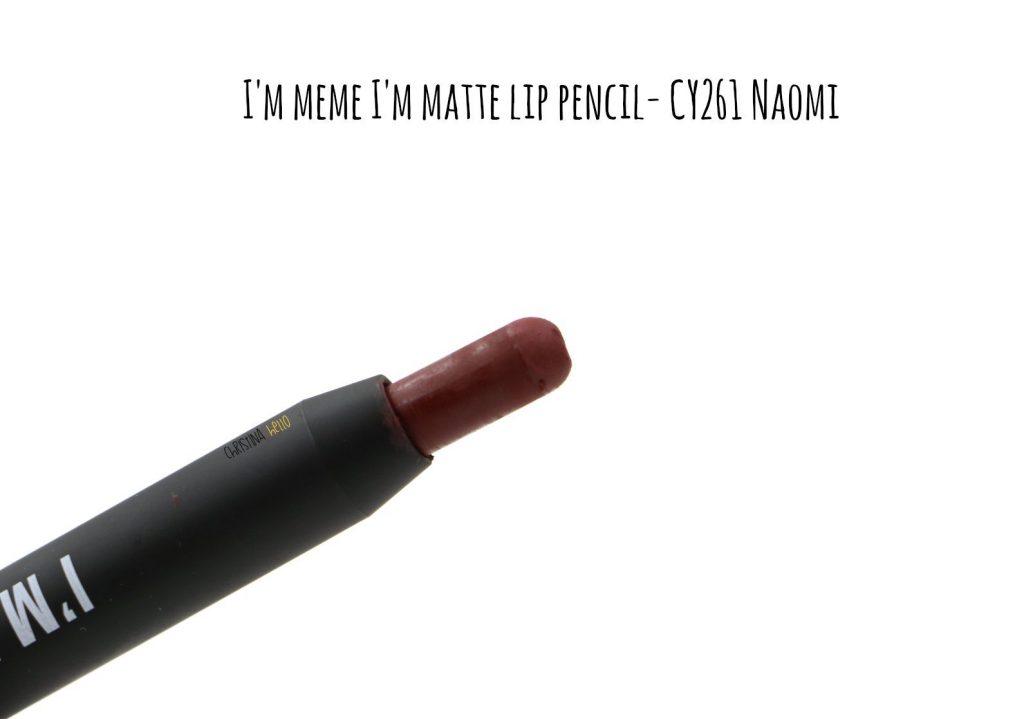 I'm meme I'm matte lip crayon