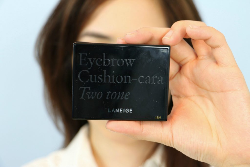 Laneige eyebrow cushion cara two tone
