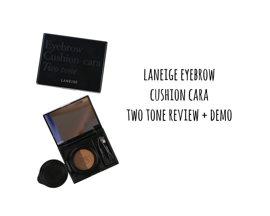 Laneige eyebrow cushion cara two tone