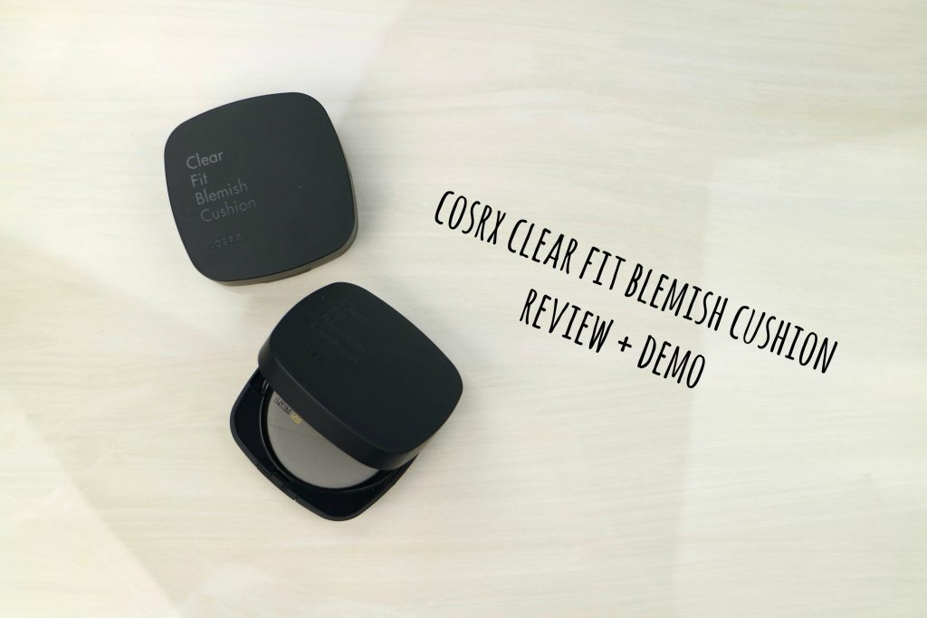 Cosrx clear fit blemish cushion review