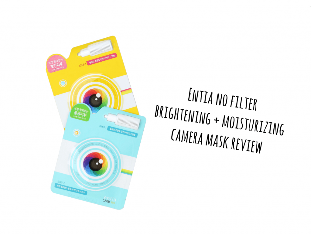 Enita no filter camera mask review