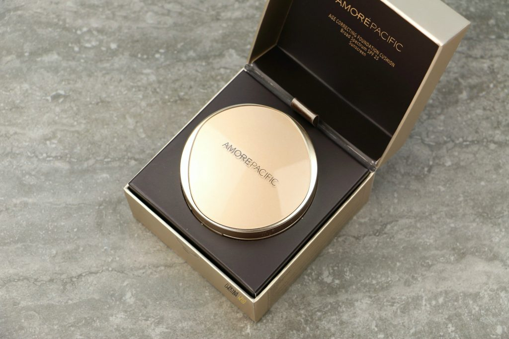 Amorepacific age correcting foundation cushion review