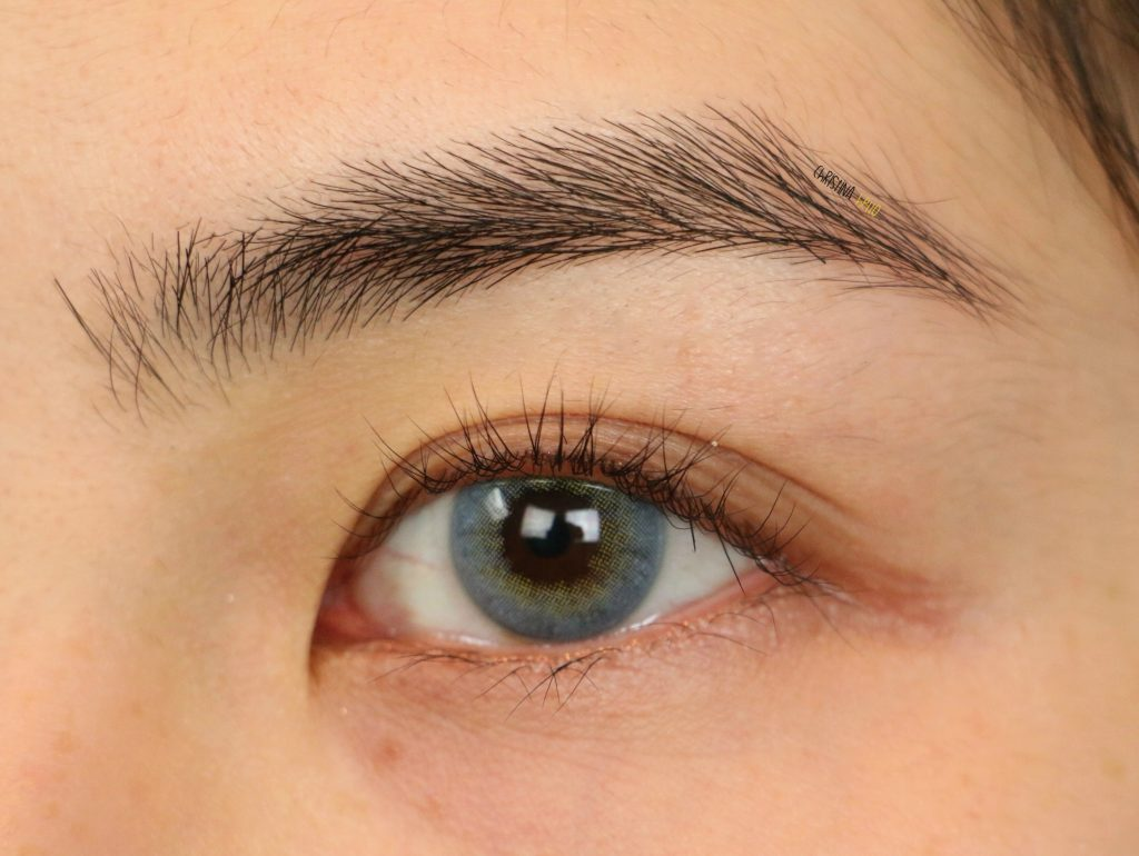 Blue color contacts for dark brown eyes