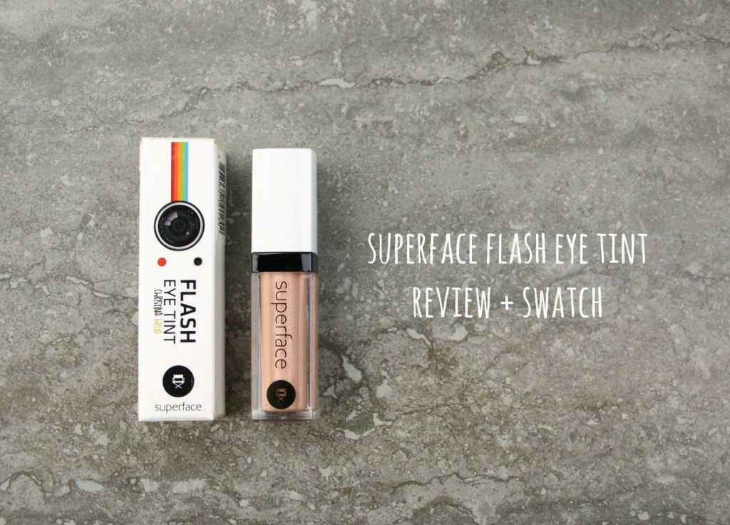 Superface flash eye tint review