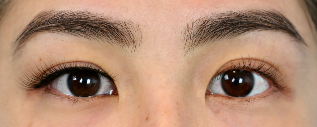 false lashes before and after